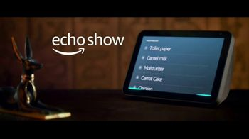 Amazon Echo Show TV Spot, 'Life Before Alexa: Ancient Egypt' - Thumbnail 8
