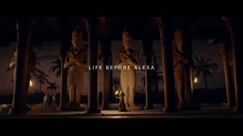 Amazon Echo Show TV Spot, 'Life Before Alexa: Ancient Egypt' - Thumbnail 1