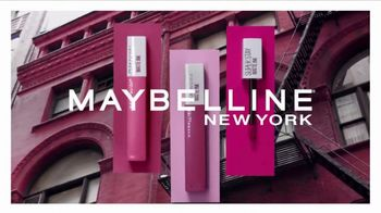 Maybelline New York SuperStay Matte Ink TV Spot, 'Pink Edition: Pink With Attitude' - Thumbnail 2
