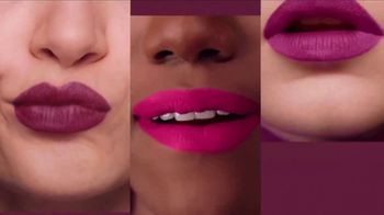 Maybelline New York SuperStay Matte Ink TV Spot, 'Pink Edition: Pink With Attitude' - Thumbnail 3