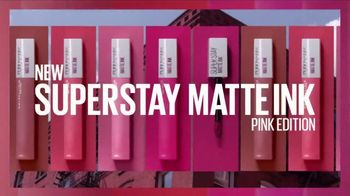 Maybelline New York SuperStay Matte Ink TV Spot, 'Pink Edition: Pink With Attitude' - Thumbnail 7
