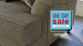 Ashley HomeStore One Day Sale TV Spot, 'Zero Percent Interest' Song by Midnight Riot - Thumbnail 2