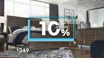 Ashley HomeStore One Day Sale TV Spot, 'Zero Percent Interest' Song by Midnight Riot - Thumbnail 6