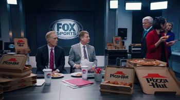 Pizza Hut Super Bowl 2020 TV Spot, 'Booth Party' Featuring Troy Aikman, Jimmy Johnson,  Roman Reigns, Sasha Banks