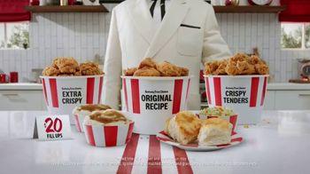 KFC $20 Fill Ups TV Spot, 'Holy Buckets!' - Thumbnail 1