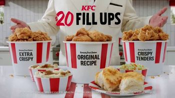 KFC $20 Fill Ups TV Spot, 'Holy Buckets!'