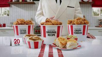 KFC $20 Fill Ups TV Spot, 'Holy Buckets!' - Thumbnail 2