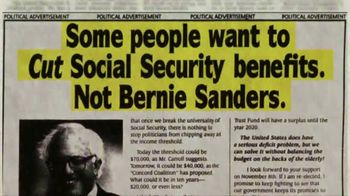 Bernie 2020 TV Spot, 'Social Security'