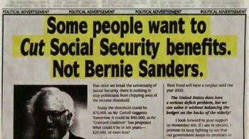 Bernie 2020 TV Spot, 'Social Security'