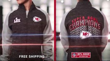 NFL Shop TV Spot, '2020 Super Bowl Champions: Kansas City Chiefs' - Thumbnail 2
