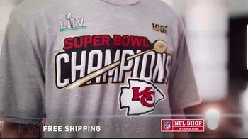 NFL Shop TV Spot, '2020 Super Bowl Champions: Kansas City Chiefs' - Thumbnail 4