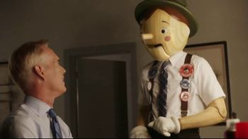 GEICO TV Spot, 'Pinocchio Sequel: Pinocchio Meets Joe Buck' - 1 commercial airings