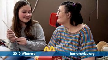 Gloria Barron Prize for Young Heroes TV Spot, 'Doing the Extraordinary: 2020 Applications' - Thumbnail 3