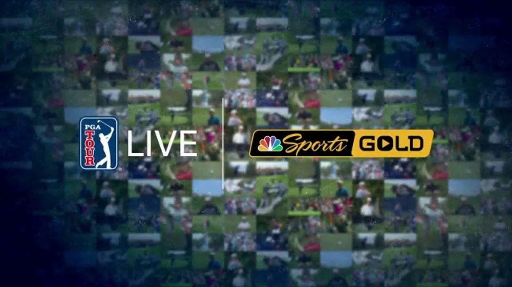 NBC Sports Gold PGA Tour Live TV Commercial, 'Every Shot Live'