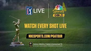NBC Sports Gold PGA Tour Live TV Spot, 'Every Shot Live' - Thumbnail 8