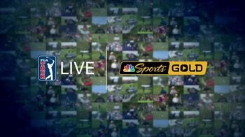 NBC Sports Gold PGA Tour Live TV Spot, \'Every Shot Live\'