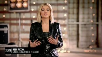 SeeHer TV Spot, 'Women in the Music Industry' Featuring Bebe Rexha