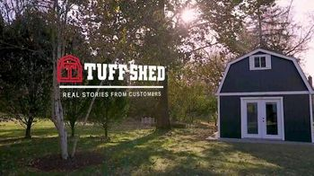 Tuff Shed TV Spot, 'Real Stories: Excited' - Thumbnail 1
