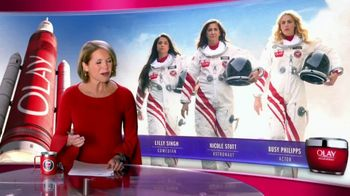 Olay Super Bowl 2020 TV Spot, 'Make Space For Women' Ft. Taraji P. Henson, Lilly Singh, Katie Couric, Busy Phillips, Nicole Stott - Thumbnail 2
