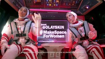 Olay Super Bowl 2020 TV Spot, 'Make Space For Women' Ft. Taraji P. Henson, Lilly Singh, Katie Couric, Busy Phillips, Nicole Stott - Thumbnail 9