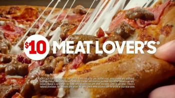 Pizza Hut $10 Meat Lover's Pizza Super Bowl 2020 TV Spot, 'Calling All Carnivores' - Thumbnail 8