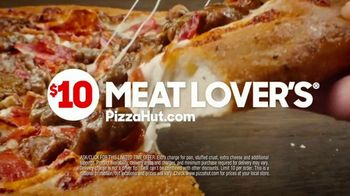 Pizza Hut $10 Meat Lover's Pizza Super Bowl 2020 TV Spot, 'Calling All Carnivores' - Thumbnail 9
