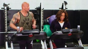 WW Super Bowl 2020 TV Spot, 'Running Mates' Featuring Dwayne Johnson, Oprah Winfrey - Thumbnail 4