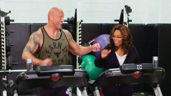 WW Super Bowl 2020 TV Spot, 'Running Mates' Featuring Dwayne Johnson, Oprah Winfrey - Thumbnail 8