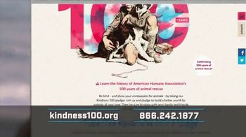 American Humane Association TV Spot, '100 Years' Featuring Alison Sweeney - Thumbnail 5