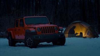 Jeep Gladiator Super Bowl 2020 Teaser, 'Groundhog Day: Tent' [T1] - Thumbnail 3