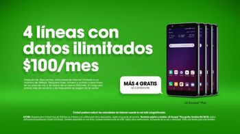 Cricket Wireless TV Spot, 'Couch' [Spanish] - Thumbnail 7