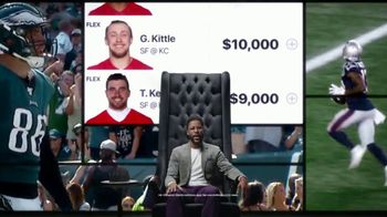 DraftKings TV Spot, 'Royalty Is Earned' Featuring Nate Burleson - Thumbnail 7