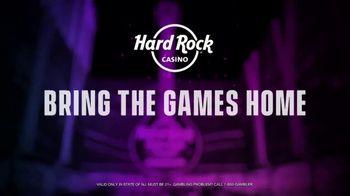 Hard Rock Hotels & Casinos TV Spot, 'Favorite Game: 50 Free Spins' - Thumbnail 7
