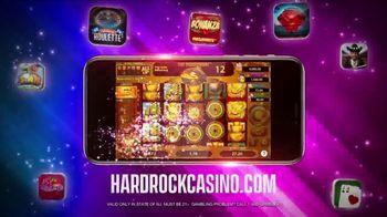 Hard Rock Hotels & Casinos TV Spot, 'Favorite Game: 50 Free Spins' - Thumbnail 4