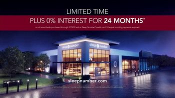 Ultimate Sleep Number Event TV Spot, '50 Percent' Featuring Travis Kelce - Thumbnail 9