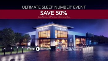 Ultimate Sleep Number Event TV Spot, '50 Percent' Featuring Travis Kelce - Thumbnail 8