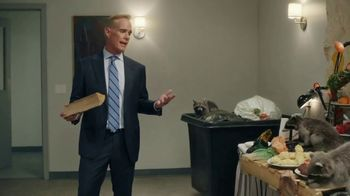 GEICO Insurance TV Spot, 'The Raccoons Cook for Joe Buck' - 1 commercial airings