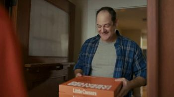 Little Caesars Pizza Super Bowl 2020 TV Spot, 'Best Thing Since Sliced Bread' Featuring Rainn Wilson - Thumbnail 9