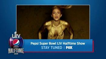 FOX Super Bowl 2020 TV Promo, 'Pepsi Super Bowl LIV Halftime Show: Stay Tuned' - Thumbnail 10