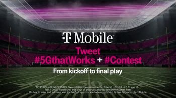 T-Mobile TV Spot, 'Big Game 2020: Nationwide 5G Phone Giveaway' - Thumbnail 8