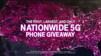 T-Mobile TV Spot, 'Big Game 2020: Nationwide 5G Phone Giveaway' - Thumbnail 4