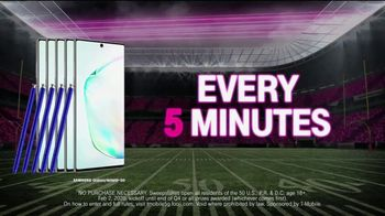 T-Mobile TV Spot, 'Big Game 2020: Nationwide 5G Phone Giveaway' - Thumbnail 7