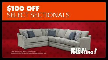 Big Lots Presidents Day Sale TV Spot, 'Hail to the Sale: Sectionals' - Thumbnail 10