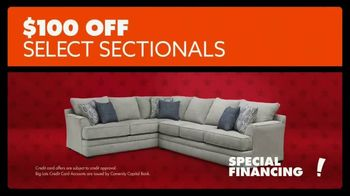 Big Lots Presidents Day Sale TV Spot, 'Hail to the Sale: Sectionals' - Thumbnail 8