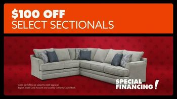 Big Lots Presidents Day Sale TV Spot, 'Hail to the Sale: Sectionals' - Thumbnail 9