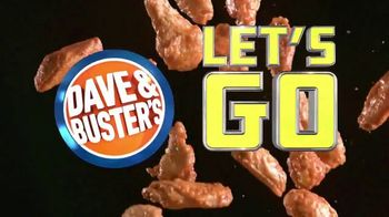 Dave and Buster's Unlimited Wings & Video Game Play TV Spot, 'Let's Go Wings: $19.99' - Thumbnail 1
