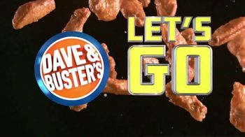 Dave and Buster's Unlimited Wings & Video Game Play TV Spot, 'Let's Go Wings: $19.99'