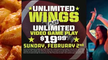 Dave and Buster's Unlimited Wings & Video Game Play TV Spot, 'Let's Go Wings: $19.99' - Thumbnail 3