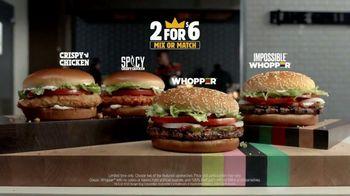 Burger King Whopper Super Bowl 2020 TV Spot, 'A Fancy Burger Disguise' - Thumbnail 10