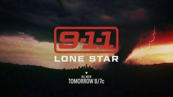 9-1-1: Lone Star Super Bowl 2020 TV Promo, 'Tornado: Tomorrow' - Thumbnail 6